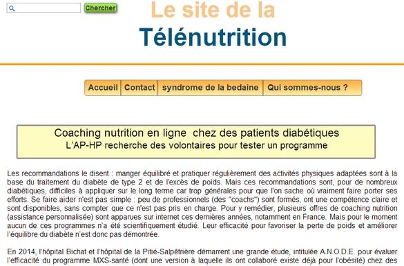 Tout savoir sur ANODE sur www.telenutrition.fr
