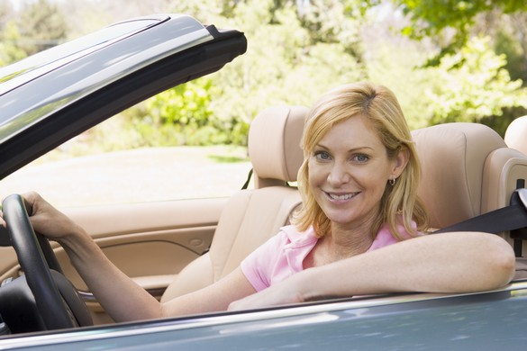 Le port de la ceinture de sécurité est obligatoire pour tous, y compris les femmes enceintes. ©Phovoir