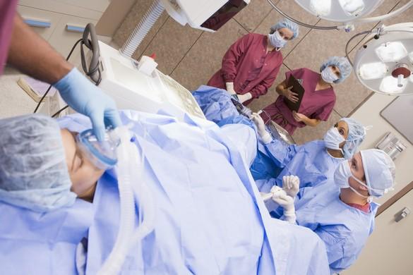 Le prélèvement des ovocytes, dans le cadre du don, se fait par voie vaginale, sous contrôle échographie. ©Phovoir