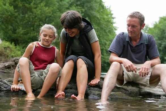 Si vous marchez plusieurs heures par jour, l'hygiène des pieds est primordiale. ©Phovoir