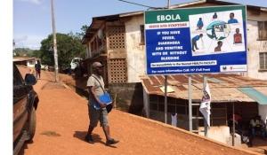 Un nombre élevé de professionnels de santé ont été affectés par Ebola. ©Médecins sans frontières