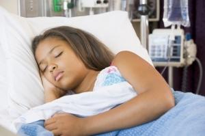 Outre-Atlantique, de nombreux enfants ont été hospitalisés pour des infections respiratoires à entérovirus D68. ©Phovoir