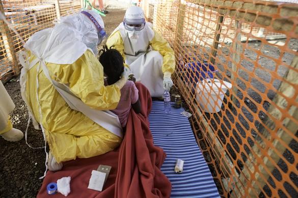 « Chaque jour, nous devons refuser des malades parce que notre centre est plein, décrit Stefan Liljegren, coordinateur MSF. ©MSF