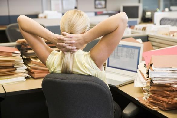 29% des salariés stressés se disent victimes de tensions musculaires. ©Phovoir