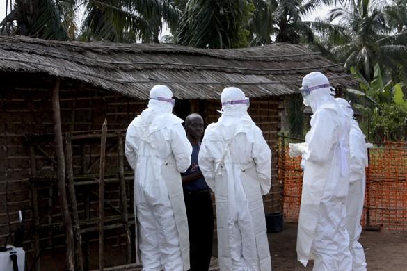 Le traçage des personnes entrées au contact de malades d'Ebola est essentiel pour endiguer une flambée de ce virus. ©MSF