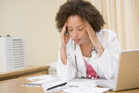 Les jeunes médecins sont particulièrement touchés par le burn out. ©Phovoir