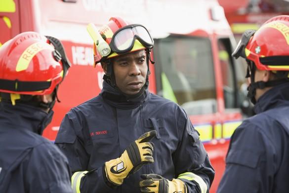 Un pompier sur trois souffrirait de troubles du sommeil. ©Phovoir
