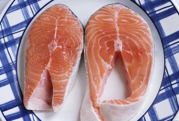 Le saumon, une des principales sources d'omega 3. ©Phovoir