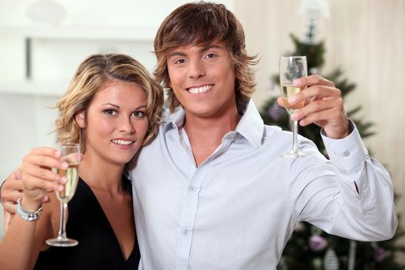 Pendant les fêtes, maîtrisez votre consommation d'alcool. ©Phovoir