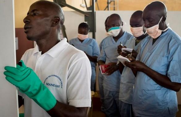 Centre de formation des soignants, Manéah, Guinée. ©Compte twitter du Service de Santé des Armées