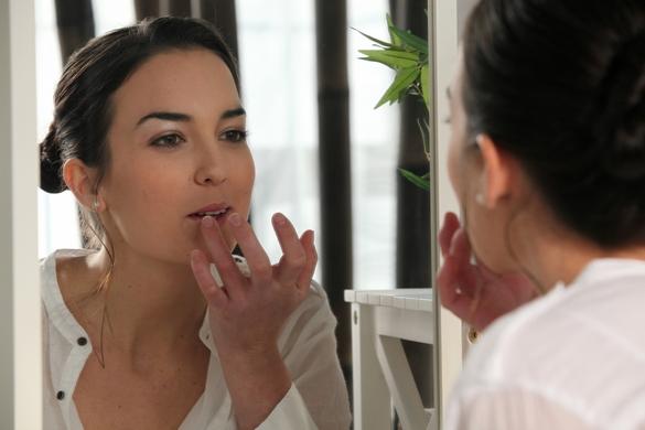 Si vous pensez souffrir d'un herpès labial, consultez votre médecin. ©Phovoir
