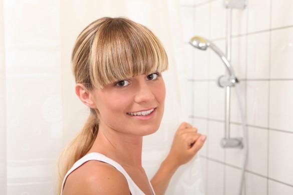 La douche quotidienne est une habitude récente dans nos sociétés. ©Phovoir