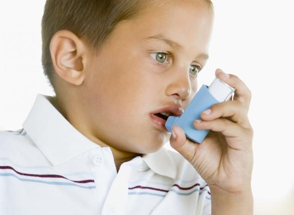 Dans le cas d'un asthme sévère, la gène respiratoire est permanente. ©Phovoir