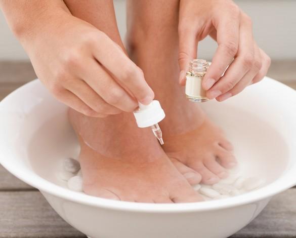 huiles essentielles pieds