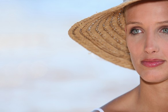Les personnes au phototype clair doivent se protéger davantage des rayons du soleil. ©Phovoir