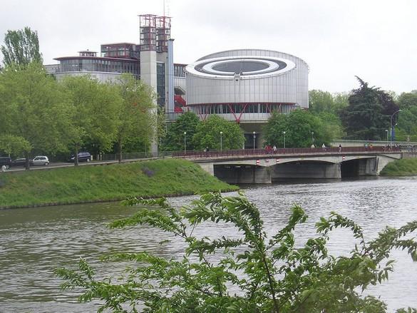 La Cour européenne des Droits de l'Homme à Strasbourg. ©Flammekueche