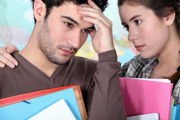 Plus de la moitié des étudiants se sentent déprimés en France ! ©Phovoir
