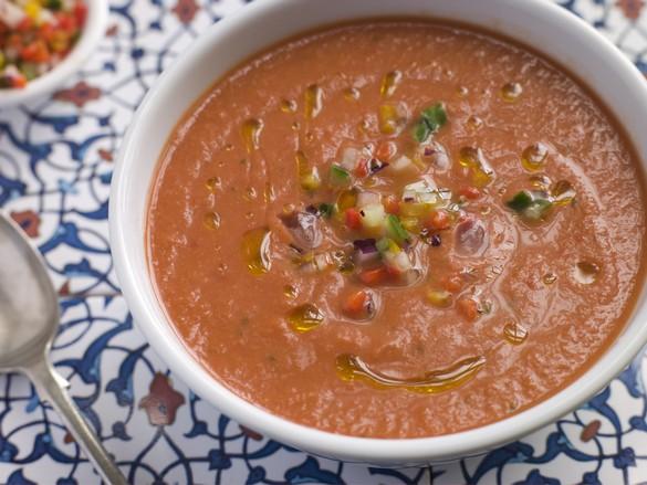 La reine des soupes froides, c'est le gaspacho andalou ! ©Phovoir