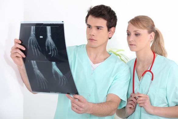 Le domaine médical et vétérinaire regroupe 63% des effectifs dont l'exposition aux rayonnements ionisants est surveillée. ©Phovoir