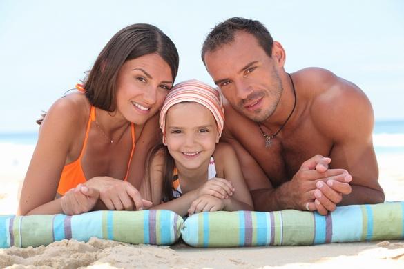 Pour profiter des plaisirs de la plage, informez-vous au préalable de la qualité des eaux de baignade ©Phovoir