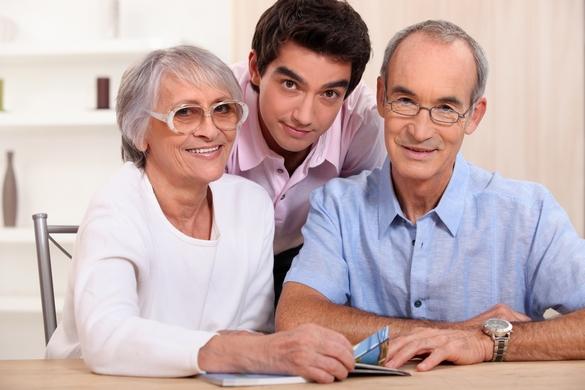 Même avec une perte auditive, vous pouvez profiter des plaisirs de la vie ne famille. ©Phovoir