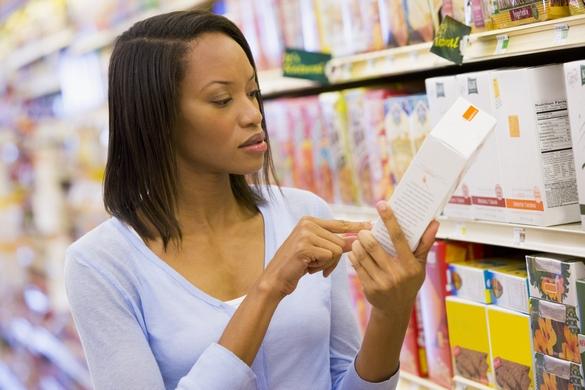 Pas toujours facile de s'y retrouver avec les informations figurant sur les étiquettes des produits alimentaires ©Phovoir