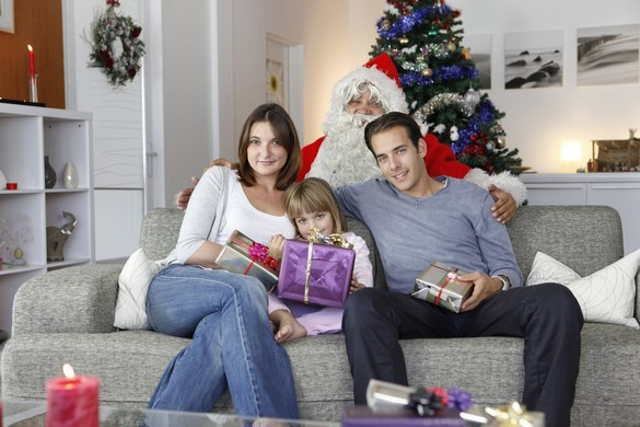 Les enfants croient généralement au Père Noël jusqu'à 6-7 ans. ©Phovoir