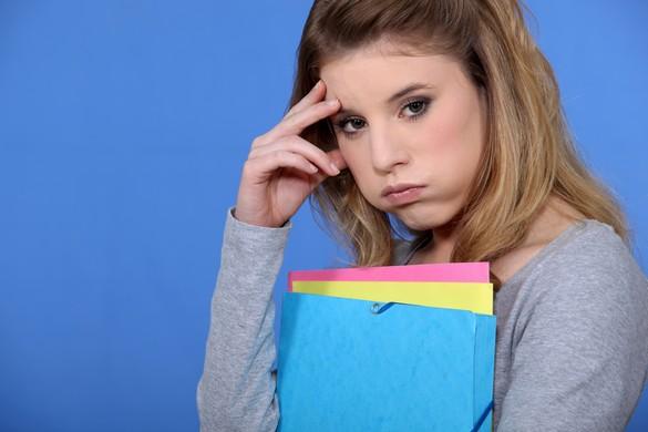 Le stress est un facteur favorisant de la survenue de troubles du comportement alimentaire. ©Phovoir
