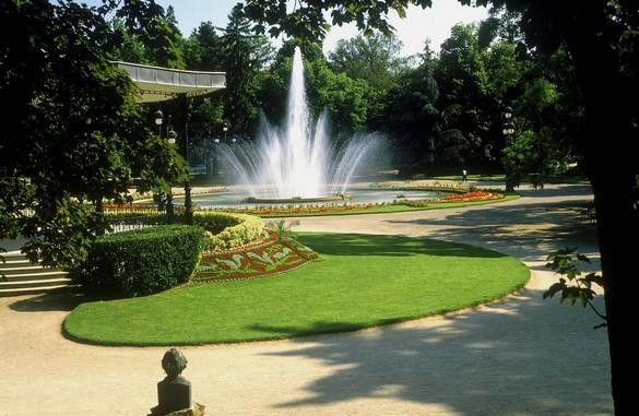 Un parc, pour faire respirer la ville et… ses habitants. ©Phovoir