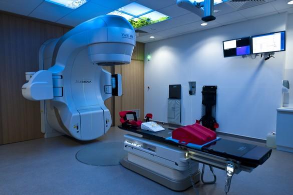 Plateforme de radiothérapie clinique du (CRLC) centre régional de lutte contre le cancer. Val d'Aurelle-Paul Lamarque, Montpellier. ©Inserm/ P Latron
