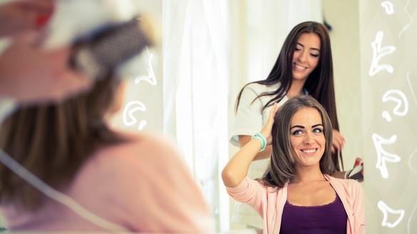 Pour rester fidèle à son style, mieux vaut choisir sa perruque avant de perdre ses cheveux. Shutterstock/Jakub Zak