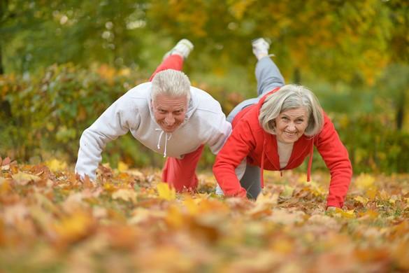 Os, cœur, vaisseaux… les bénéfices du sport sont nombreux pour les seniors. ©Ruslan Guzov/shutterstock.com