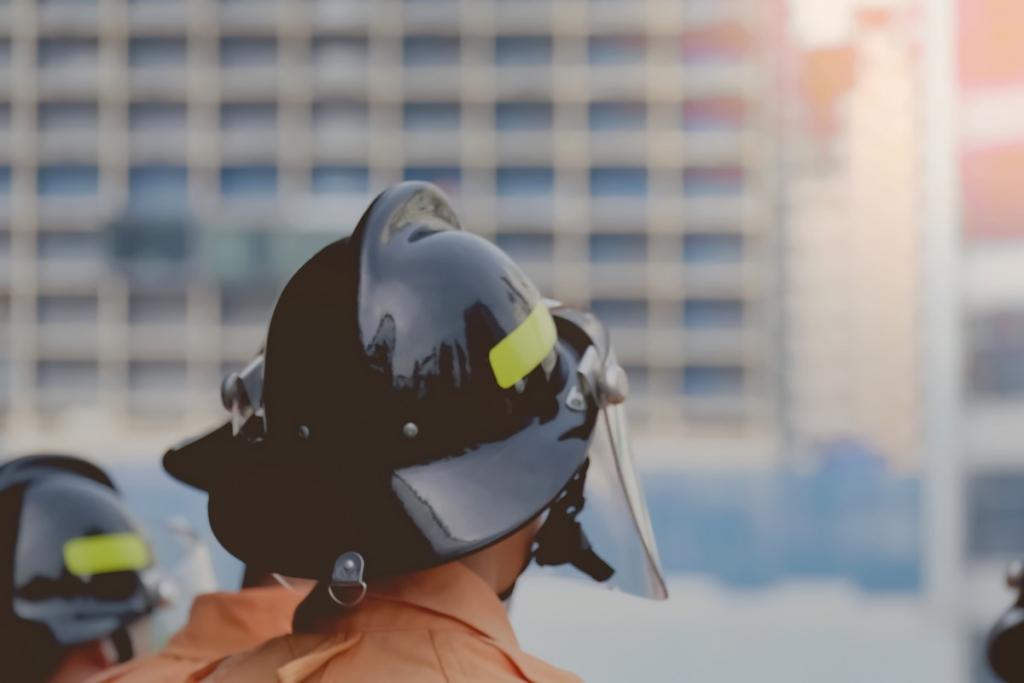 Le coeur fragile des pompiers